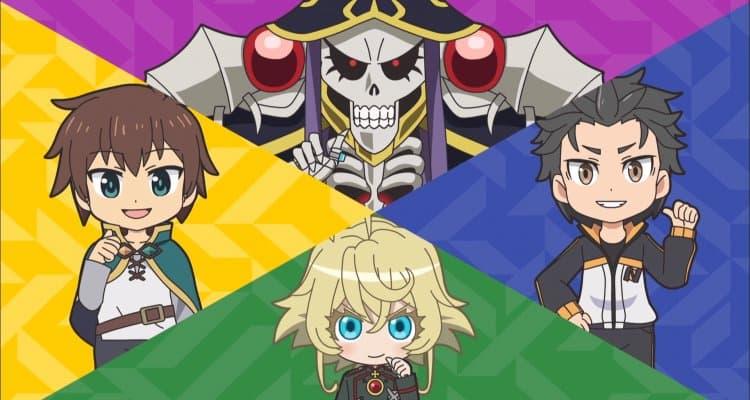Isekai Quartet Anime İncelemesi