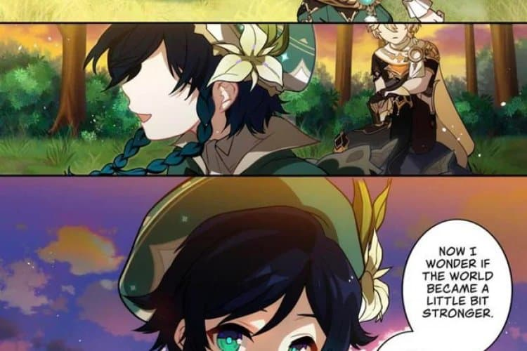 Genshin Impact Webtoonu