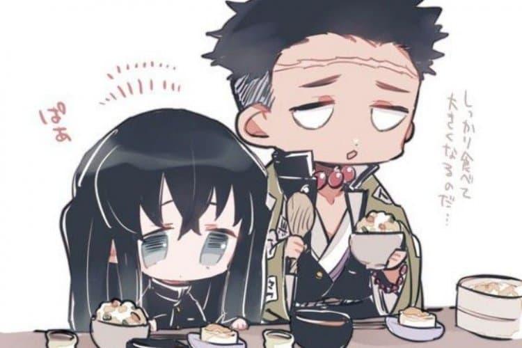 Muchiro ve Gyomei kılıcı ellerine aldıktan 2 ay sonra hashira olmuşlardır.